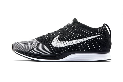 The Nike Flyknit Racer Gets Updated with a Black Tongue