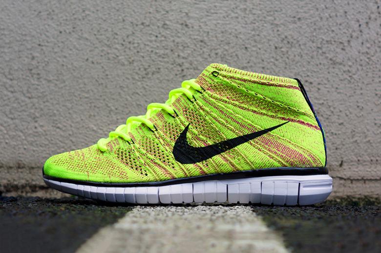 Nike 2014 Holiday Free Flyknit Chukka
