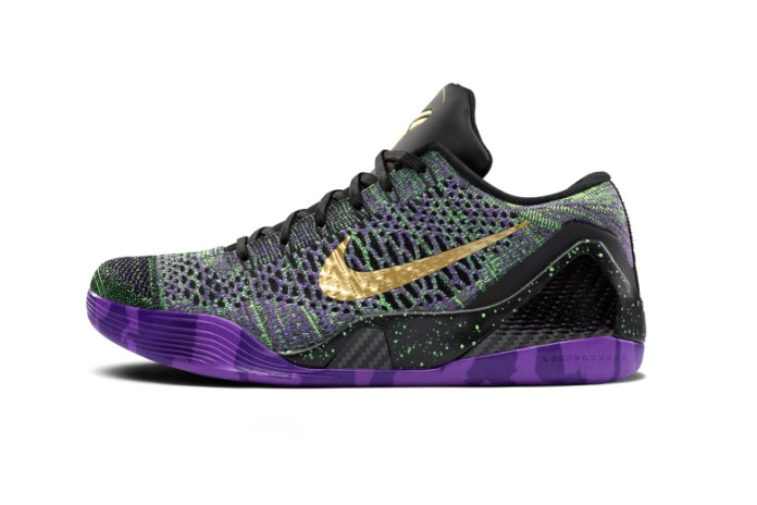 "Nike Kobe 9 Elite ""Mamba Moment"" QS iD Limited Edition Multi-Color Released in Honor of Bryant's Scoring Milestone"