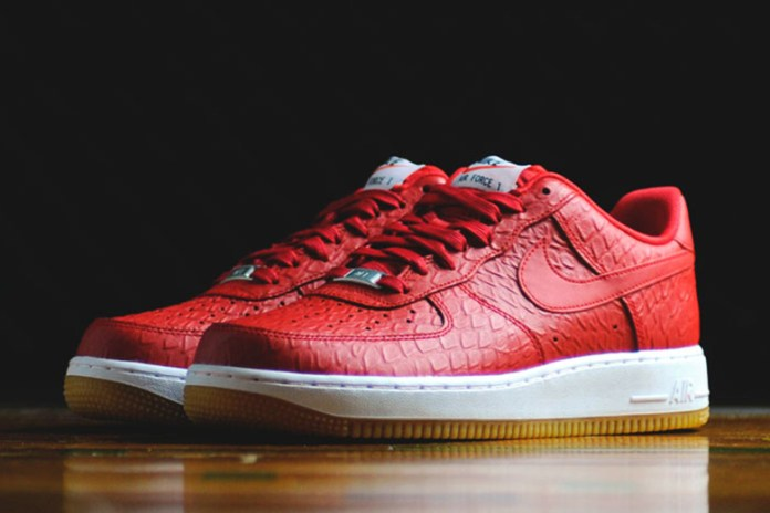 "Nike Sportswear Air Force 1 '07 LV8 ""Croc and Gum"" Pack"