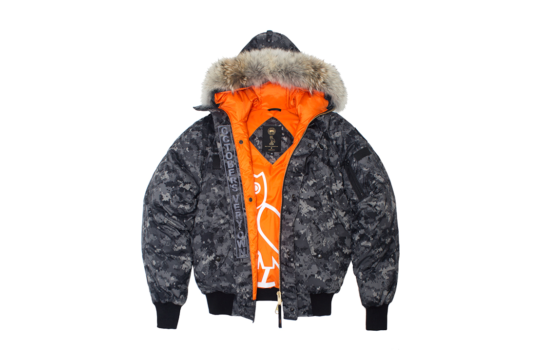 October's Very Own x Canada Goose 2014 Holiday Collection