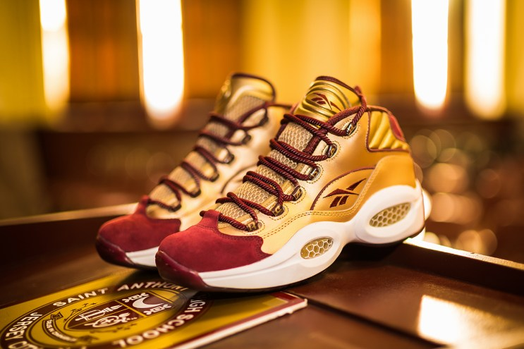 "Packer Shoes x Reebok Question Mid ""Saint Anthony High School PE"""