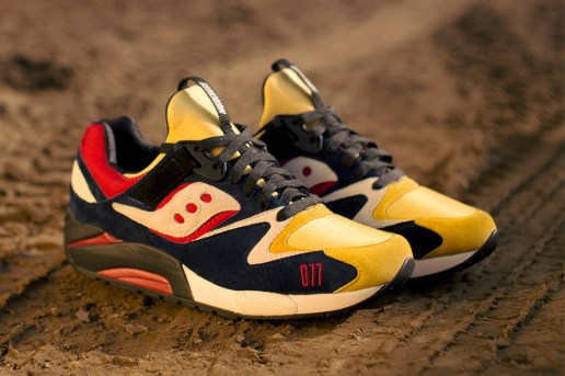 "Play Cloths x Saucony Grid 9000 ""Motocross"""