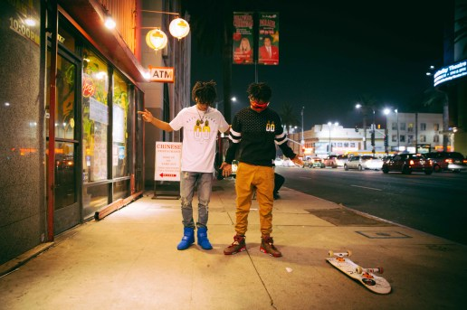 "Rae Sremmurd Flexes in Neff's ""Volt"" Collection"