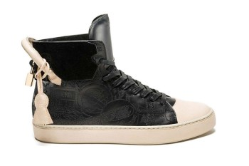 Raif Adelberg x Buscemi 2014 Holiday 125mm High Top Sneaker