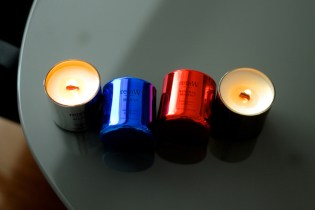"retaW Fragrance Candle ""Metallic"" Series"