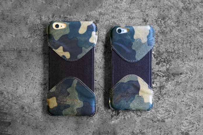 Roberu iPhone 6 Camouflage Leather Case
