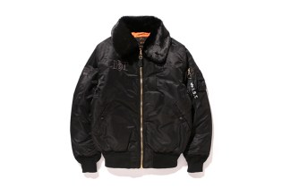 Stussy x Alpha Industries 2014 Holiday B-15
