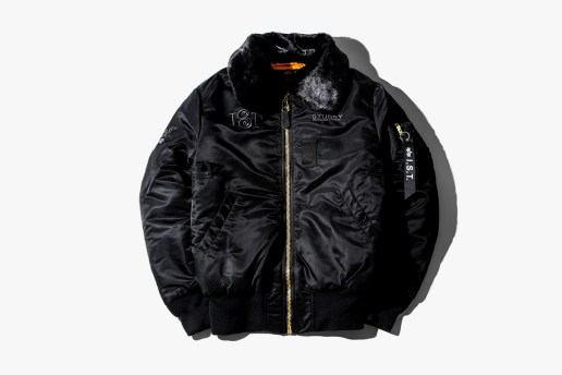 Stussy x Alpha Industries B-15 Jacket & I.S.T. Collection