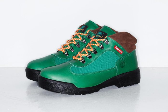 Supreme x Timberland® 2014 Fall/Winter Field Boot