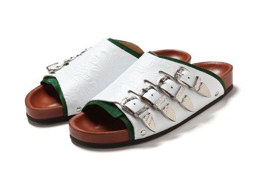 TOGA PULLA SHOE Embossed Sandal