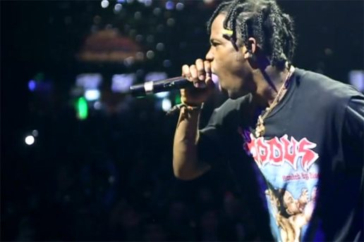 Hypnotizing Footage from Travi$ Scott's Show in Russia
