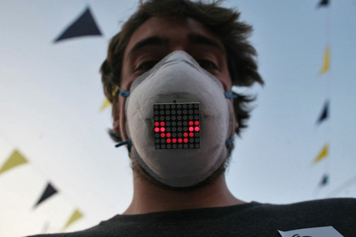 UnMask Displays Facial Expressions From Behind the Mask