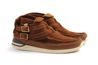 "visvim MESA MOC-FOLK ""Brown Suede"""