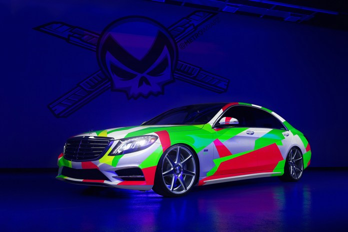 "Vossen Wheels x Mercedes Benz S550 ""Product Placement"" by MetroWrapz @ Art Basel Miami"