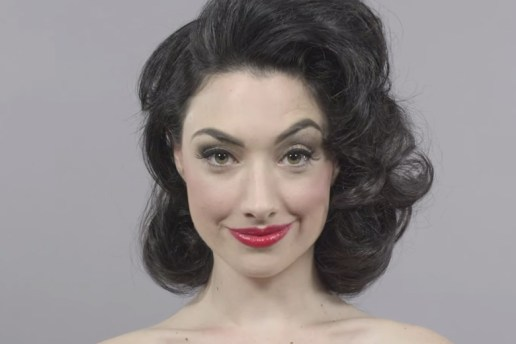 Watch 100 Years of Beauty in One Minute