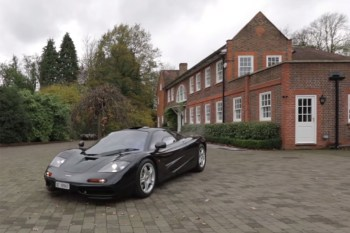 Which is Worth More: McLaren F1 or Country Mansion?