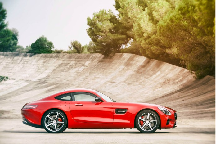 Will the Mercedes-Benz AMG GTS Outshine the AMG SLS?