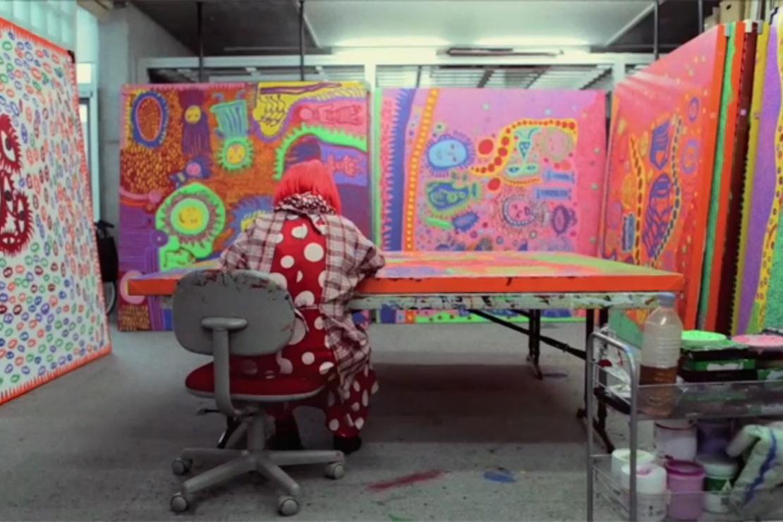 Yayoi Kusama: Self Obliteration Short Film by Martín Rietti