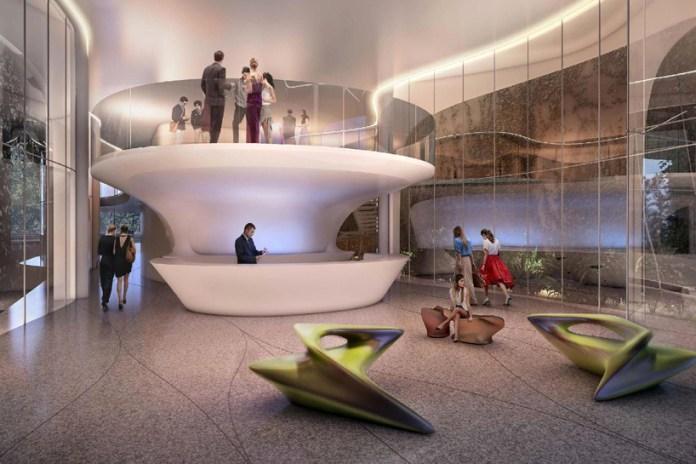 Zaha Hadid Designs a Luxury Apartment Complex in Rio de Janeiro