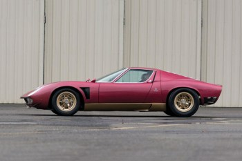 1971 Lamborghini Miura SVJ to Be Auctioned Off for $2 Million USD