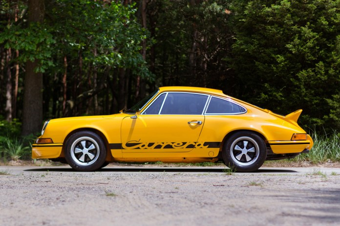 1973 Porsche 911 Carrera 2.7 RS is the Fastest Appreciating Vehicle of the Decade: Values Up by Nearly 700%