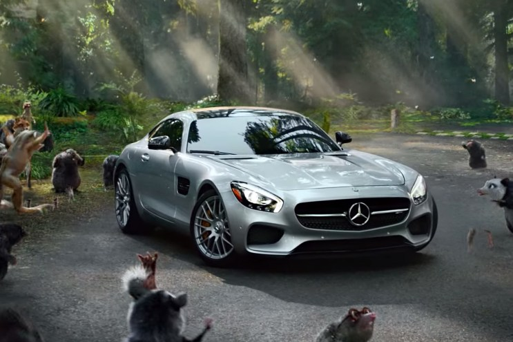 "2016 Mercedes-Benz AMG GT S ""Fable"" Commercial"