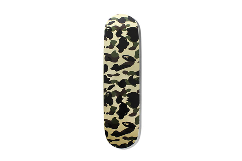 A Bathing Ape 1ST CAMO Skateboard