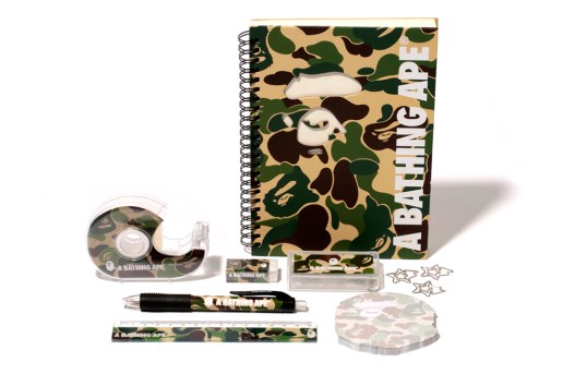 A Bathing Ape ABC STATIONERY SET