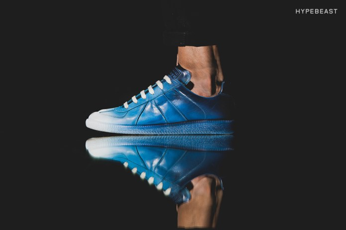 A Closer Look at the Maison Margiela Airbrush Blue Replica Sneaker