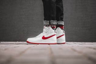 "A Closer Look at the Nike Air Force 1 High ""NAI KE"""