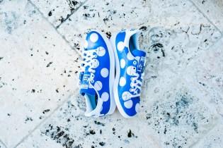 """A Closer Look at the Pharrell Williams x adidas Originals Consortium """"Big Polka Dots"""" Blue"""