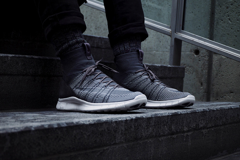 """A First Look at the Nike Free Flyknit Mercurial SP """"Dark Grey"""""""