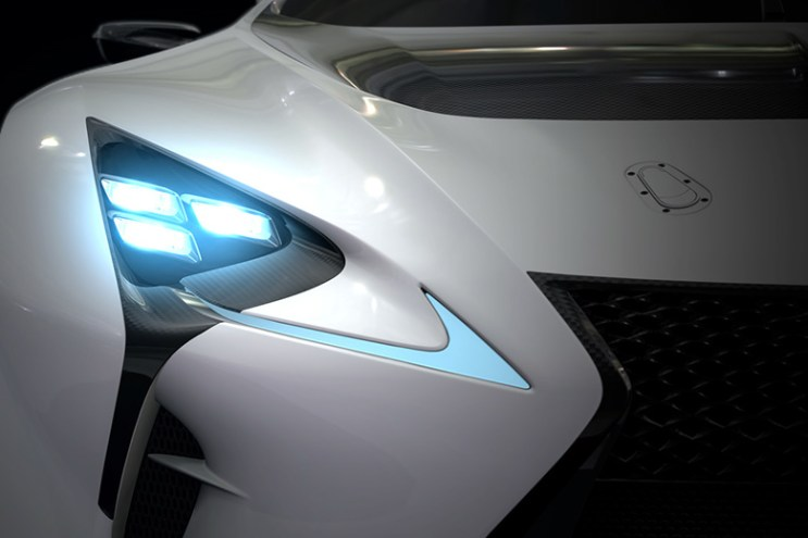A Preview of the Lexus LF-LC GT Vision Gran Turismo
