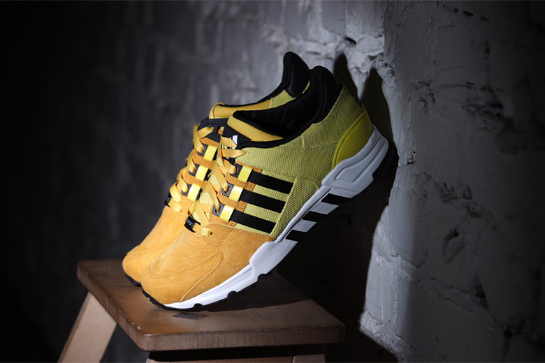 "adidas Originals EQT Running Support '93 ""Bright Yellow"""