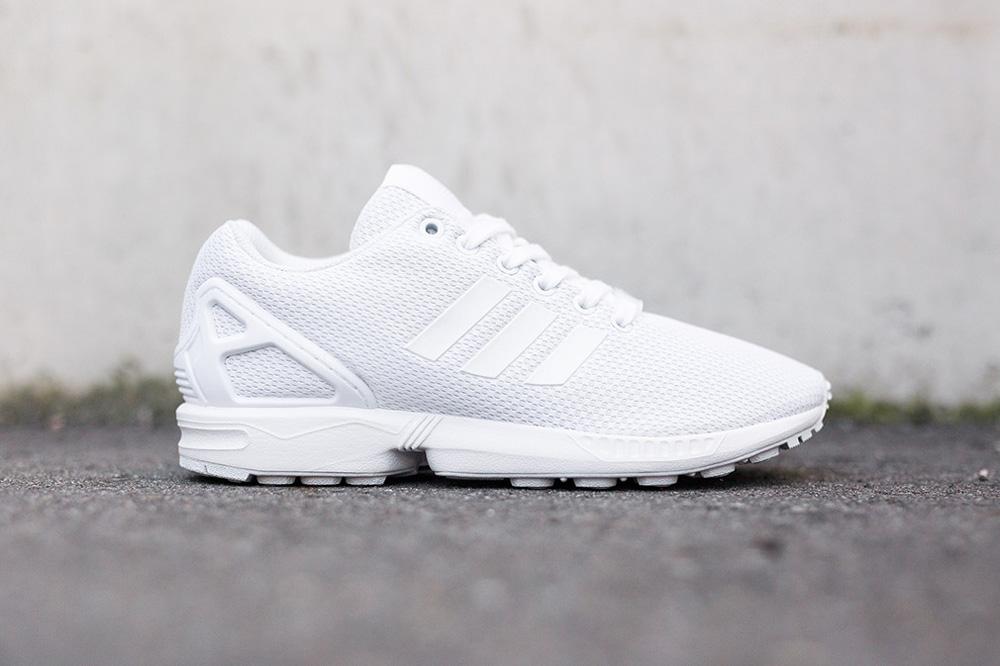 """adidas Originals ZX Flux """"All White"""""""