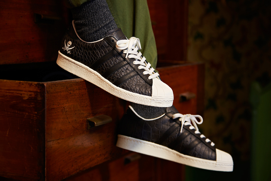 adidas Unveils Collaboration Superstars with NEIGHBORHOOD & Union Los Angeles