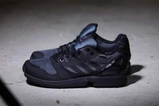 "adidas ZX Flux Weave OG GORE-TEX ""All Black"""