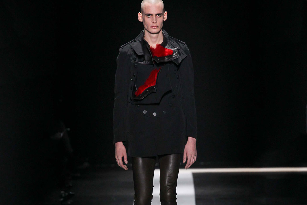 Ann Demeulemeester 2015 Fall/Winter Collection