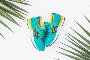ASICS Gel Lyte V Tropical Green/Black