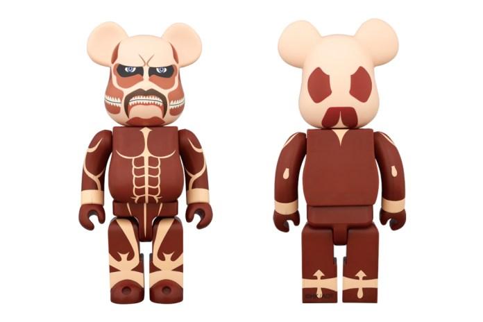 'Attack on Titan' x Medicom Toy Colossal Titan 1000% Bearbrick