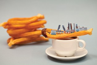 Brunch City Series: Miniature Cityscapes Made Out of Food