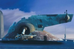 Check Out These Incredibly Detailed Background Paintings from 'The Empire Strikes Back' and 'Return of the Jedi'
