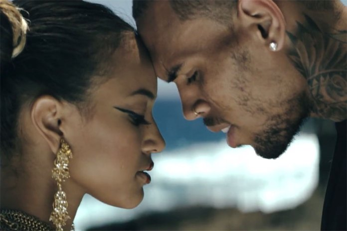 "Chris Brown featuring Kendrick Lamar ""Autumn Leaves"" Music Video"