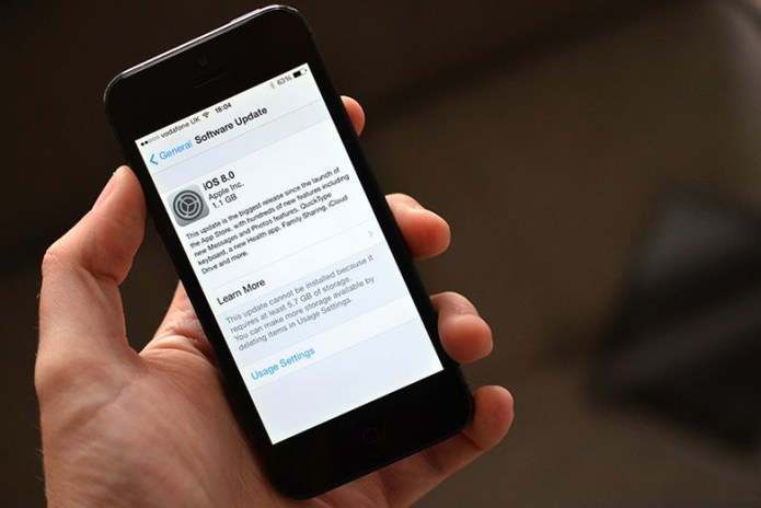 Class Action Lawsuit Sought Against Apple for Shrinking Storage Space with iOS 8