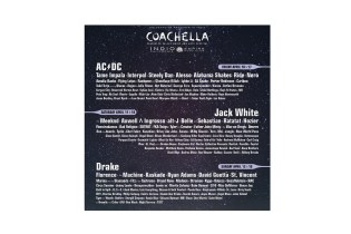 Coachella 2015 Will Be Headlined by AC/DC, Jack White & Drake