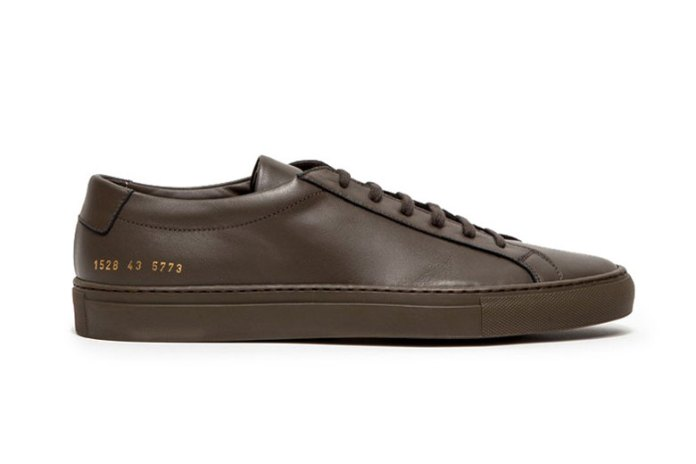 """Common Projects Achilles Low """"Army"""""""