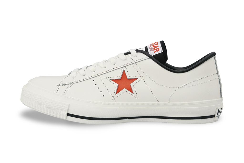 Converse Japan One Star J White/Orange & White/Light Green