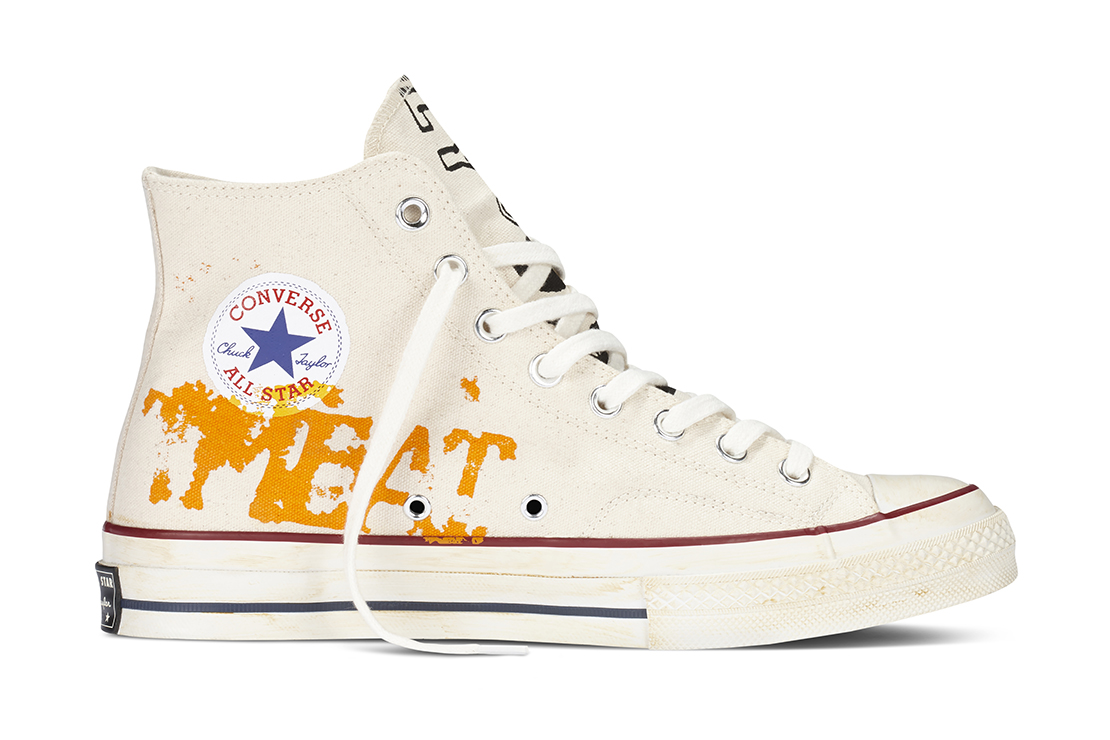 Converse Recreates Andy Warhol's Custom Chuck Taylor All Stars