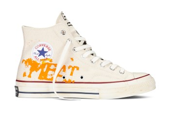 Converse Recreates Andy Warhol's Custom Chuck Taylor All Stars